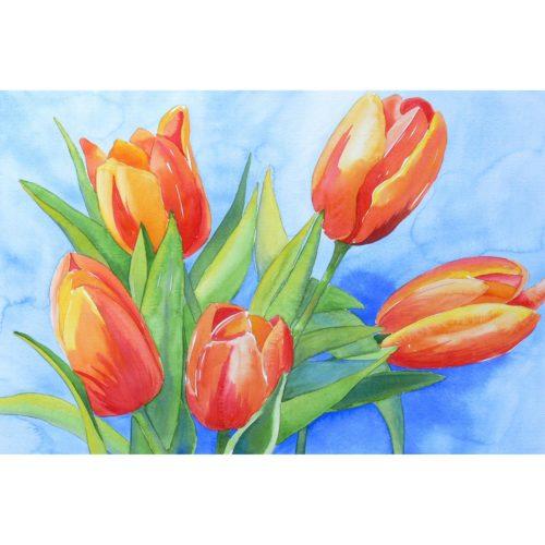 Strauß Tulpen