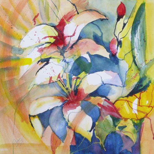 Strauß Lilien