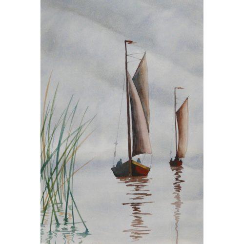 Zeesboote Bodden
