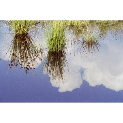 Spiegel mit Wolken