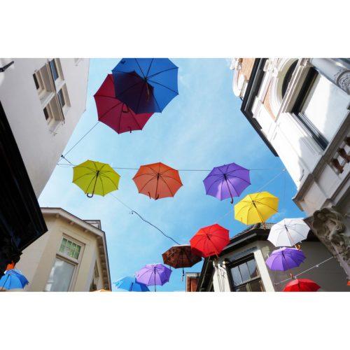 bunte Schirme