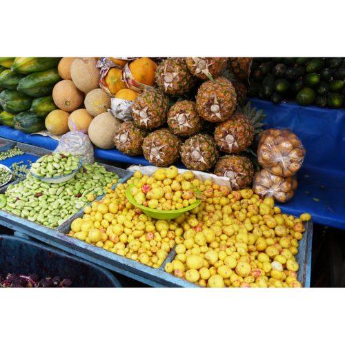 Markt mit Obst
