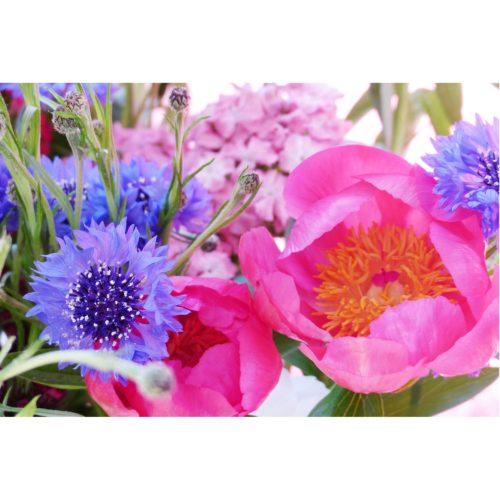 Blumenstrauss Pfingstrosen