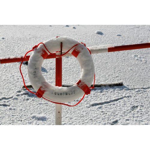 Rettungsring Eis