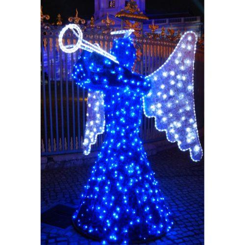 blauer Weihnachtsengel